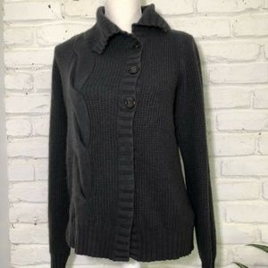 QUICKSILVER Gray Sweater Large